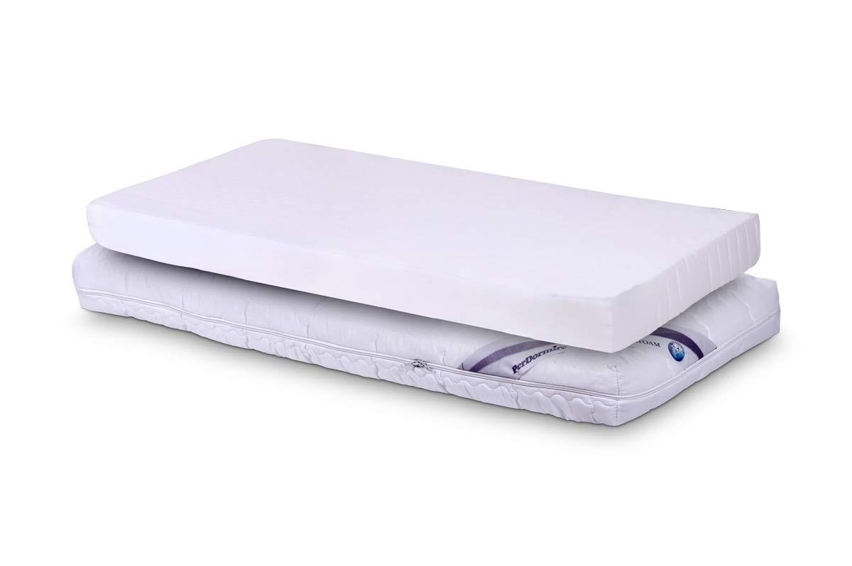 PerDormire BABY WHITE - matrac do detskej postielky 60 x 120 cm, snímateľný poťah