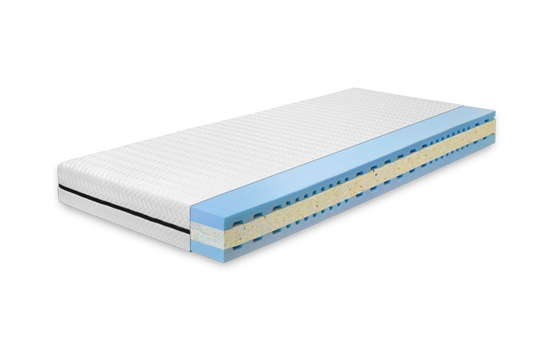 Ahorn LUCIDA 14 cm - komfortný matrac vhodný aj pre deti, snímateľný poťah