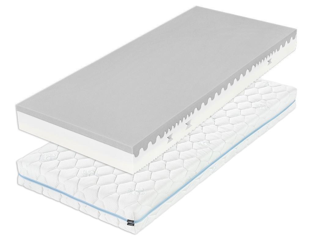 Tropico DÁŠA 18 cm - nelepený matrac s hybridnou penou 120 x 220 cm, snímateľný poťah