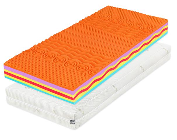 DreamLux Dreamlux ORTO - obojstranný luxusný matrac 120 x 200 cm, snímateľný poťah