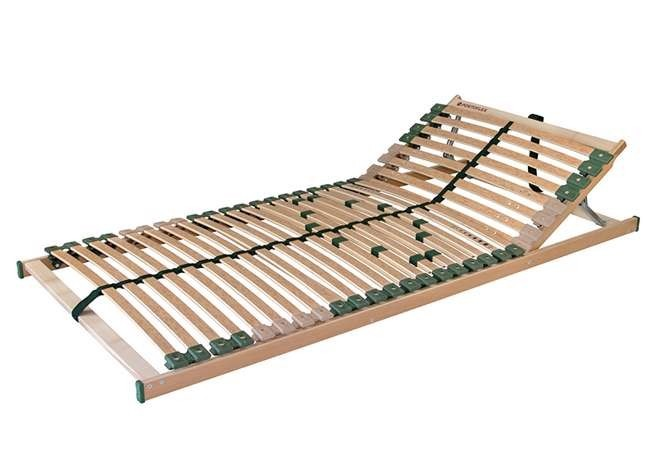 Ahorn PORTOFLEX H - pružný lamelový rošt s polohovaním 100 x 190 cm, brezové lamely + brezové nosníky