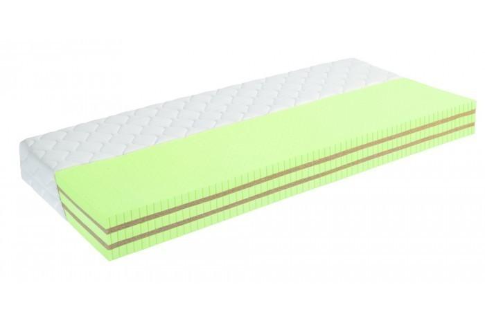 Moravia Comfort ARTEMIS BIO - latexový matrac s kokosom - antibakteriálny poťah Moravia 140 x 200 cm, snímateľný poťah