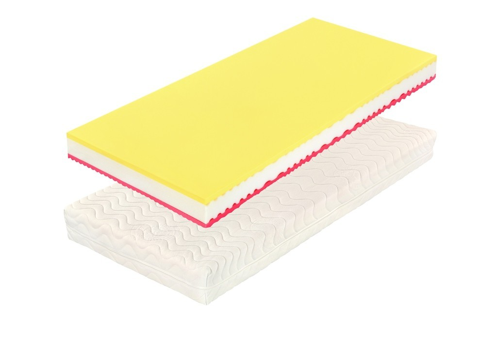 Slumberland RIVIERA PLUS - 18 cm zónový matrac 200 x 220 cm, snímateľný poťah
