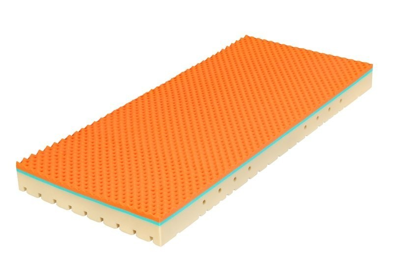 Tropico SUPER FOX 22 cm - matrac s lenivou penou 100 x 220 cm 2 ks, snímateľný poťah