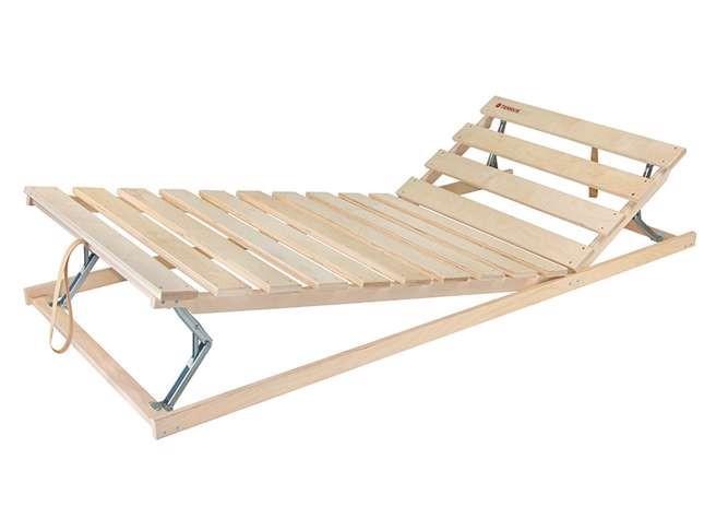 Ahorn TERRUS HN - polohovateľný latový posteľný rošt 70 x 195 cm, brezové laty + brezové nosníky