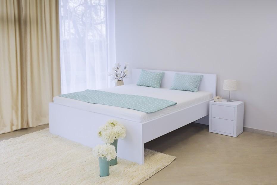 Ahorn TROPEA - moderná lamino posteľ s plným čelom 120 x 200 cm, lamino