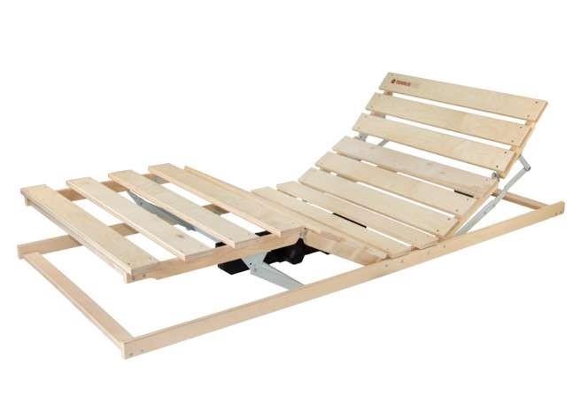Ahorn TERRUS MOTOR - motorový posteľný rošt (ovládanie bezdrôtové), brezové laty + brezové nosníky
