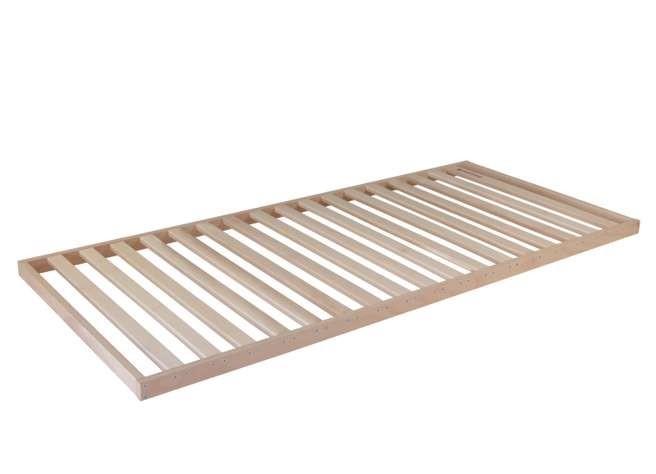 Ahorn MAXIMUS - latový posteľný rošt s nosnosťou 220 kg! 110 x 220 cm, bukové drevo