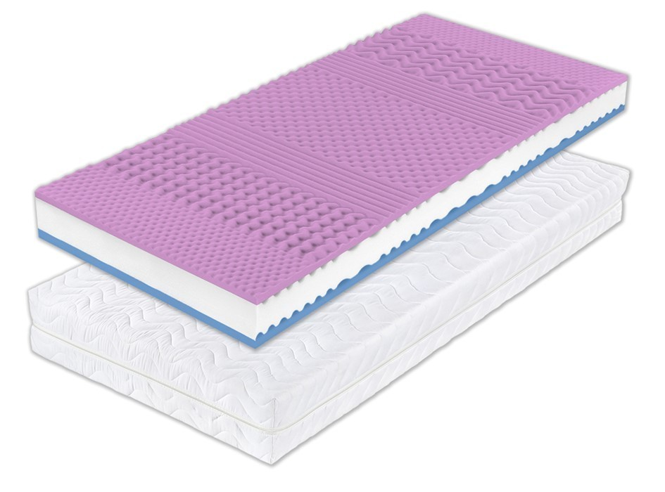 Dreamlux WANDA HR 18 cm - vzdušný matrac zo studenej peny 180 x 200 cm, snímateľný poťah