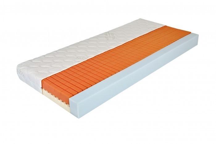 Moravia Comfort BELLA PLUS - matrac so spevnenými bočnicami 85 x 200 cm, snímateľný poťah