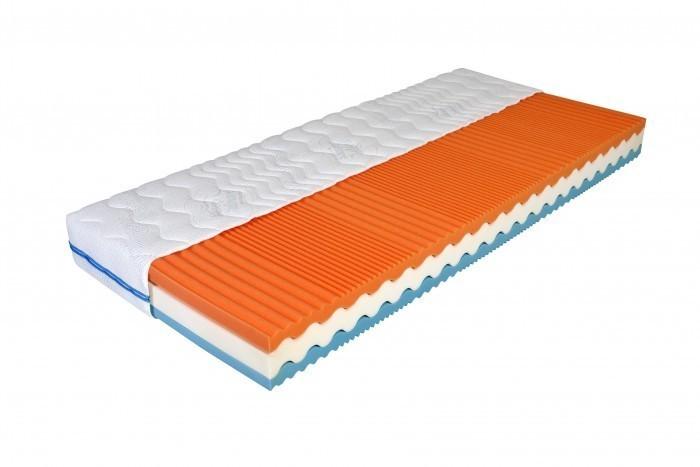 Moravia Comfort GYLFI 21 cm - zdravotný matrac s lenivou penou 100 x 220 cm, snímateľný poťah