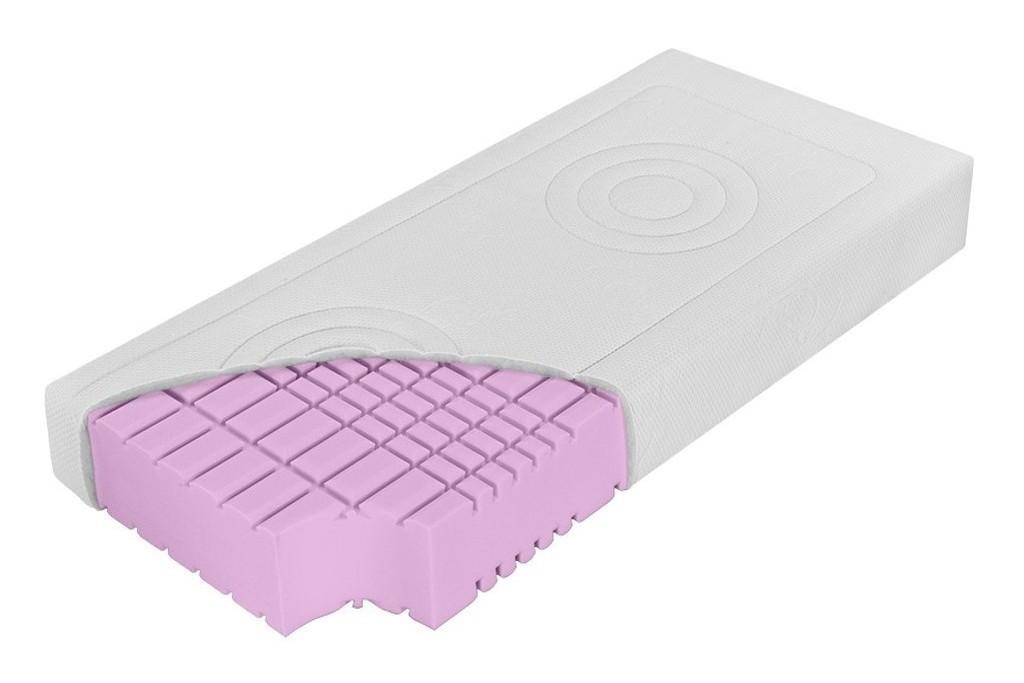 DreamLux PADMÉ - 15 cm matrac zo studenej peny 140 x 200 cm, snímateľný poťah