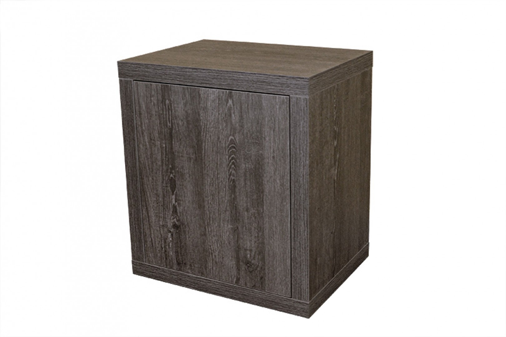 Ahorn DVIERKA - nočný stolík dekor dub čierny, lamino