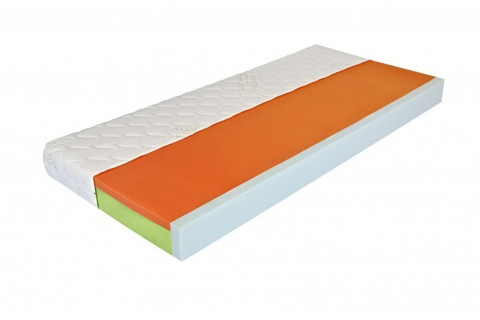 Moravia Comfort BELLA LUX - matrac s lenivou penou a bočnicami 85 x 200 cm, snímateľný poťah