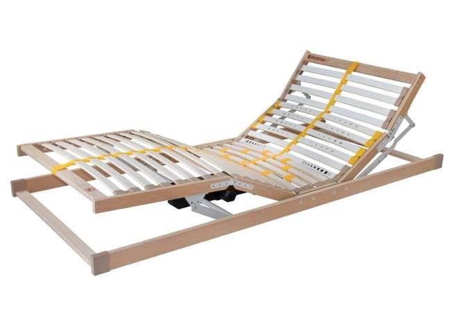 Ahorn DUOSTAR MOTOR - lamelový posteľný rošt s motorovým polohovaním 100 x 200 cm