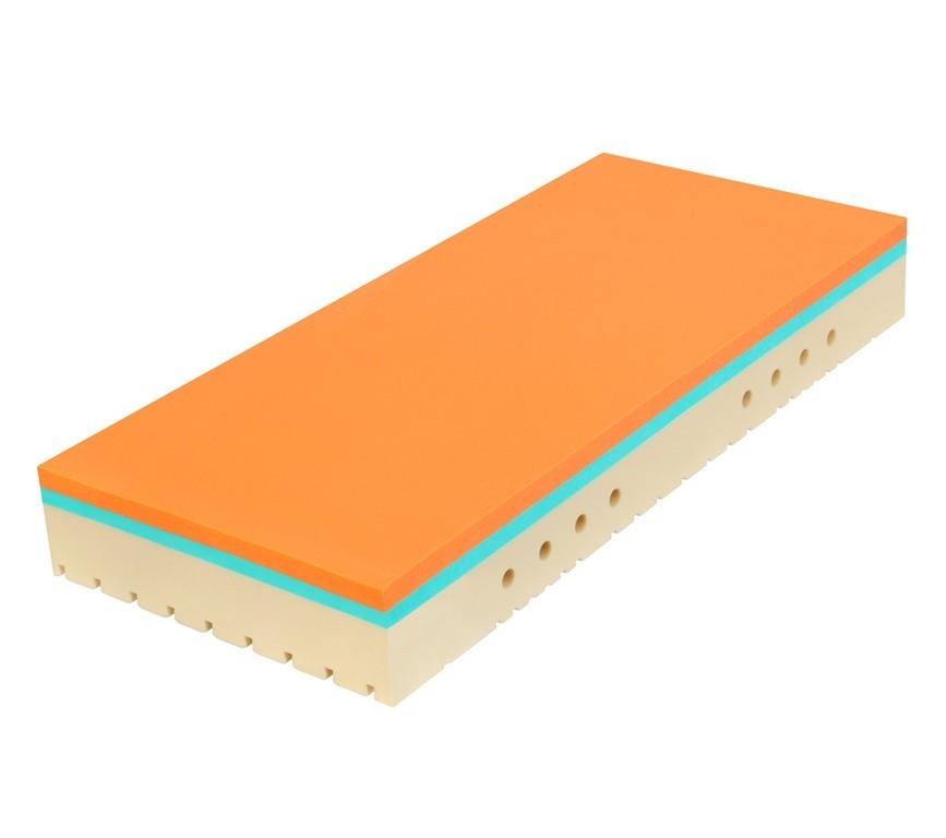 Tropico SUPER FOX Classic 20 cm - matrac s lenivou penou 120 x 200 cm, snímateľný poťah