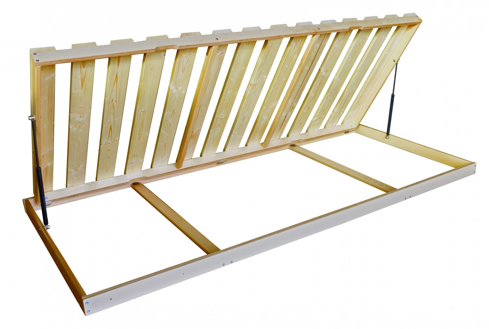 Texpol MASÍV ŠTANDARD BOČNÝ VÝKLOP - latový rošt s nosnosťou 120 kg 120 x 200 cm, smrek