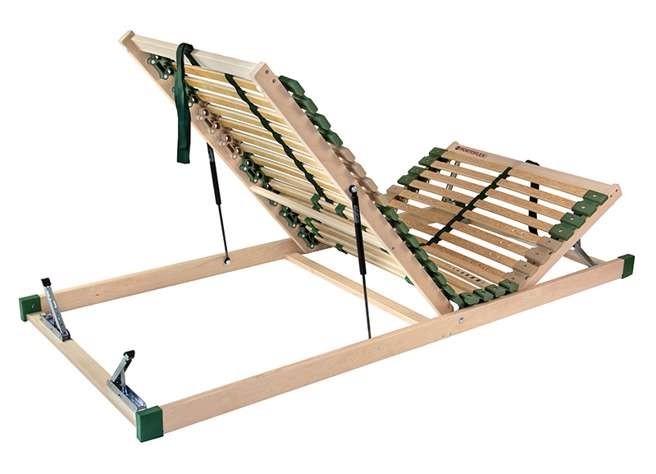 Ahorn PORTOFLEX HN P MEGA - posteľný rošt s nosnosťou až do 150 kg 100 x 190 cm, brezové lamely + brezové nosníky