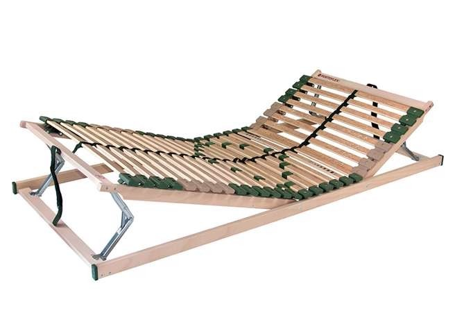 Ahorn PORTOFLEX HN MEGA - posteľný rošt s nosnosťou až do 150 kg 100 x 190 cm, brezové lamely + brezové nosníky