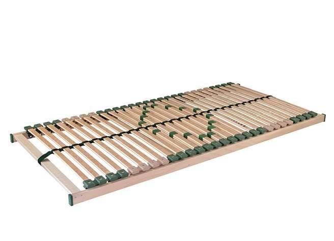 Ahorn PORTOFLEX MEGA - posteľný rošt s nosnosťou až do 150 kg 100 x 190 cm, brezové lamely + brezové nosníky